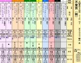 第17S:11月1週 天皇賞秋