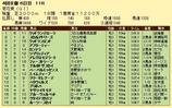 第17S:10月4週 菊花賞 成績