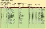 第22S:10月2週 白山大賞典 成績