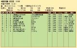 第28S:10月2週 京都大賞典 成績