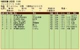 第28S:11月2週 ファンタジーS 成績