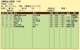第17S:01月3週 京成杯 成績