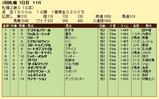第17S:10月1週 札幌2歳S 成績
