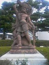 インドの神の像2