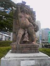 インドの神の像1