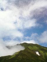 7月東大雪石狩岳