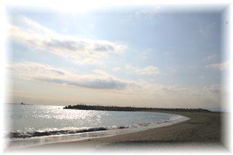 初!デジイチで海!