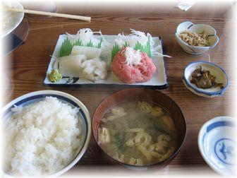11.7三崎定食