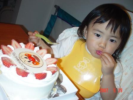 5.29 アンパンマンケーキ