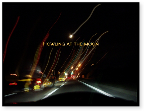 月に吠える